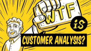 What is customer analysis?