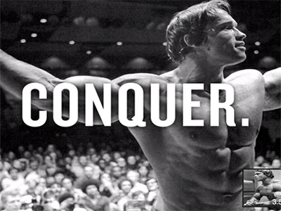 Motivation on Monday – Arnold  Schwarzenegger