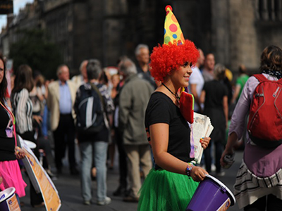 What I learnt about marketing at the Edinburgh Fringe Festival