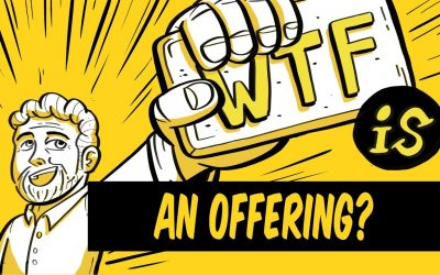 What is an offering in marketing?