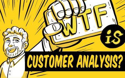 What is customer analysis?