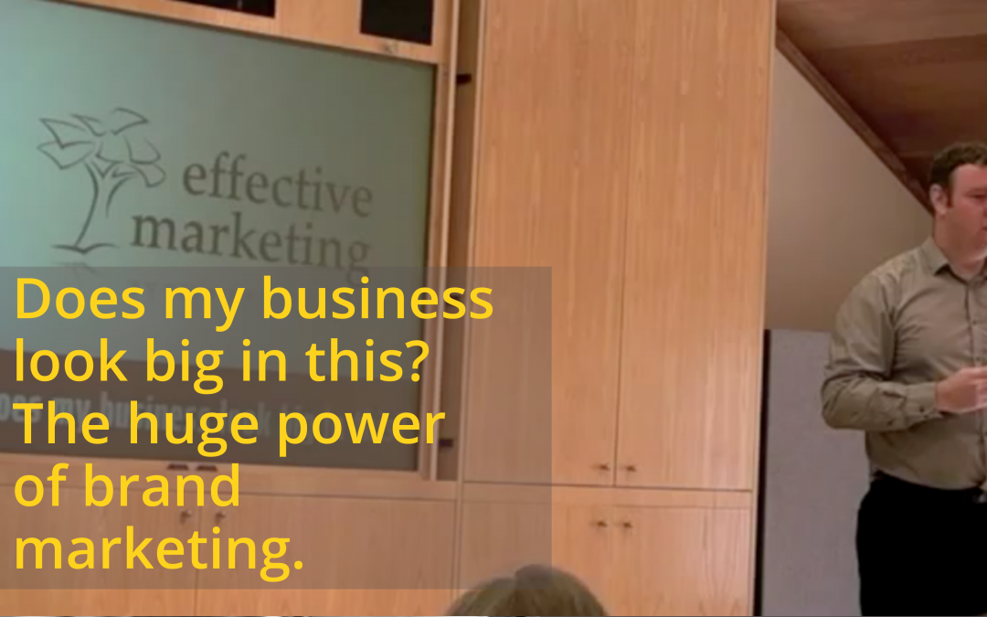Does my business look big in this? The huge power of brand marketing.